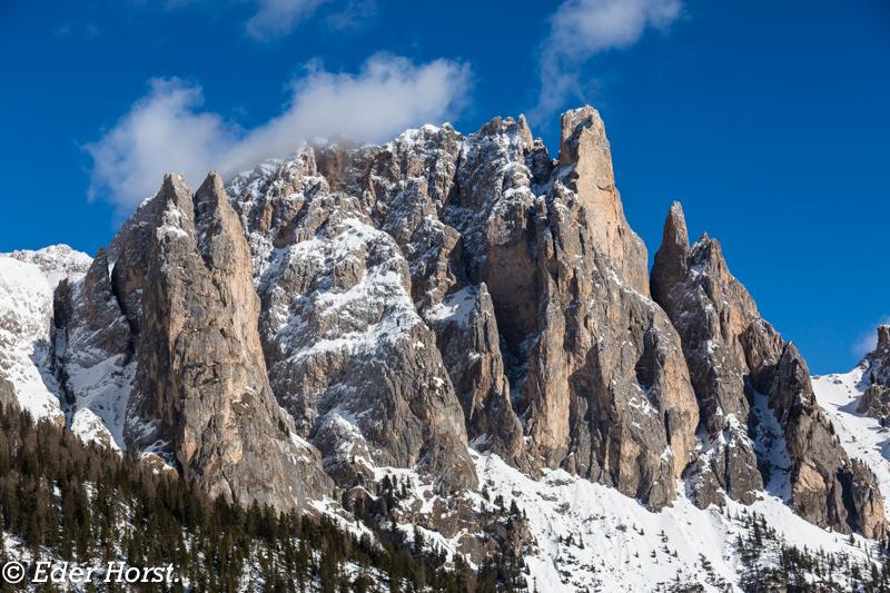 Schneeschuhtour – Rosengarten  Südtirol.