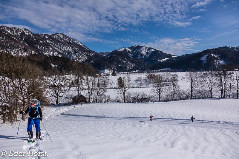 Winterwanderung bei der Villa Sonnwend in Windischgarsten.