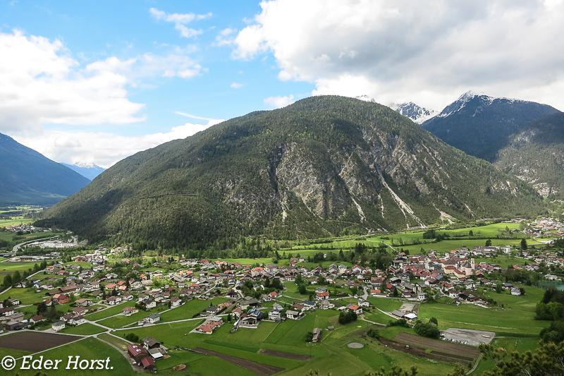 Mit dem Womo in Nassereith. (Tirol)