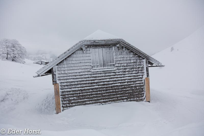 Schneeschuhtour zur Genneralm und Langbathsee. 2018
