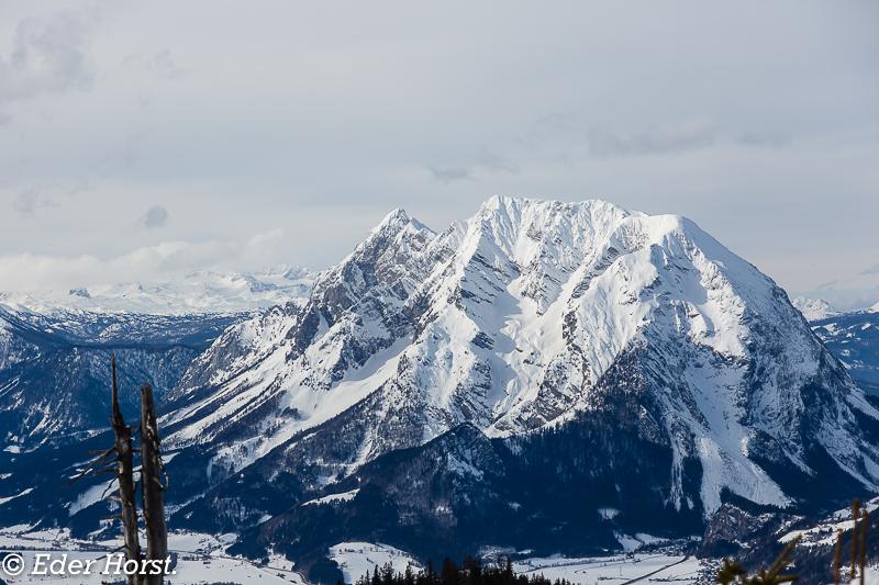 Schneeschuhtour am Hohen Trett. 1681m. 2018