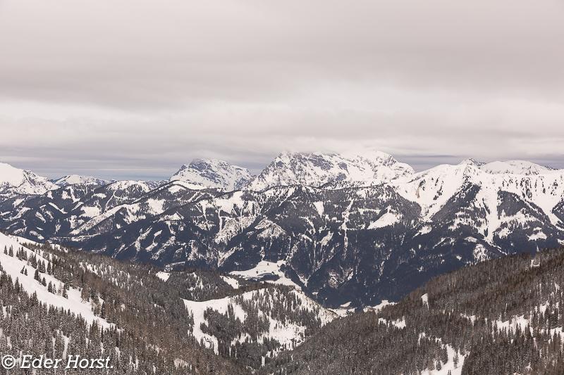 Schneeschuhtour im Triebental. 1714m.  2019.
