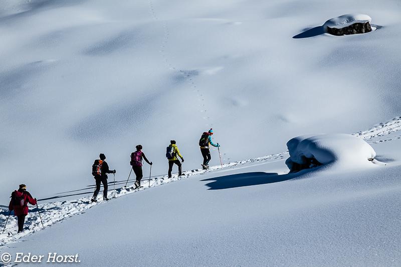 Schneeschuhtour in Groß Arl. 2016