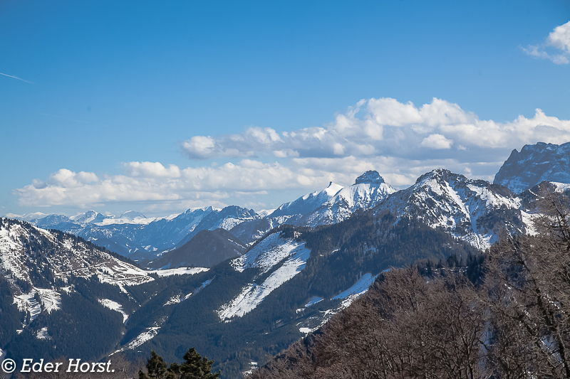 Schneeschuhtour  auf dem Schafkogel 1550m. 2016