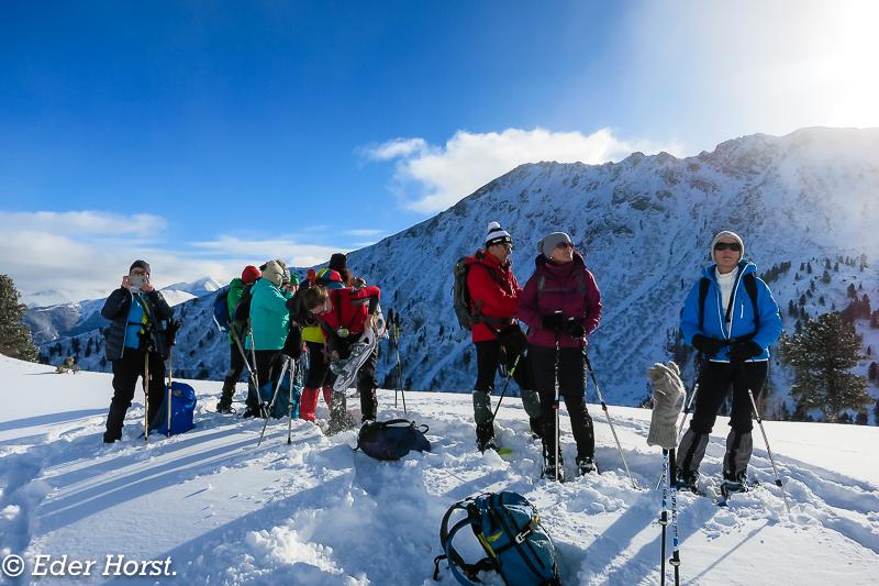 Schneeschuhtour in den Rottenmanmer Tauern.  2017