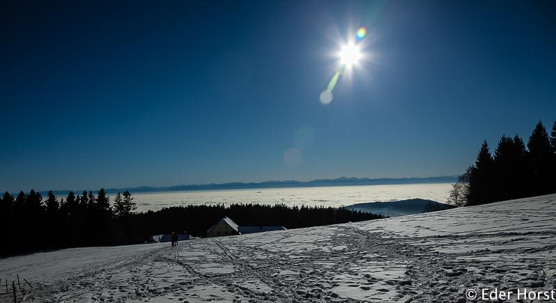 Winterwandern bei der GIS.