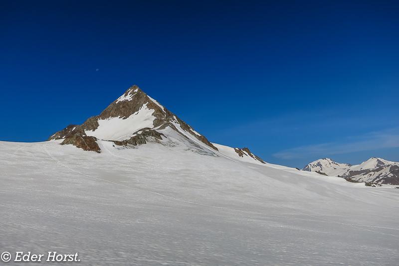 Öztal – Runde.  Similiaun 3606m, Fluchtkogel 3500m, Hochvernagtspitze 3535m