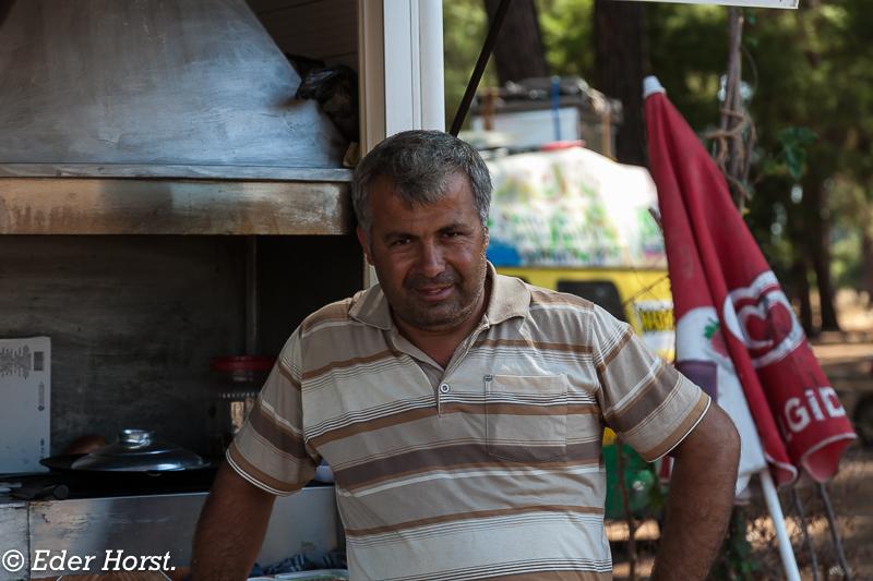Menschen in der Türkei.