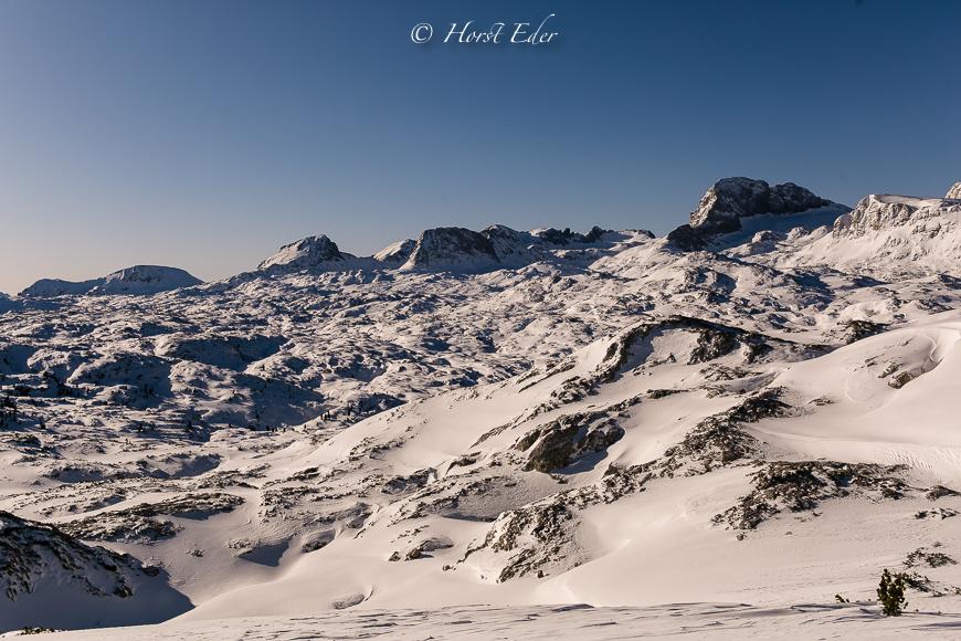 Schneeschuhtour am Dachstein Hochplateau