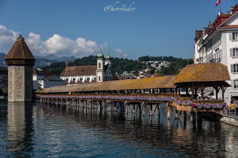 Luzern in der Schweiz.  .. Eine Reise Wert..