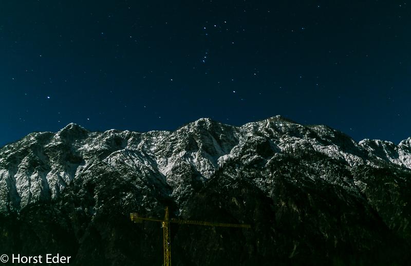 Nachts in der Umgebung von Bad Goisern und beim Traunsee…