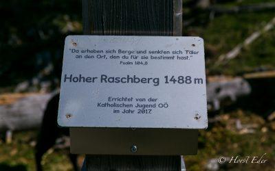 Bergtour auf den Raschberg 1488m