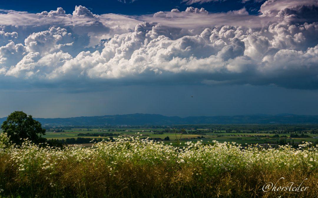 Wolkenstimmung über Alkoven..