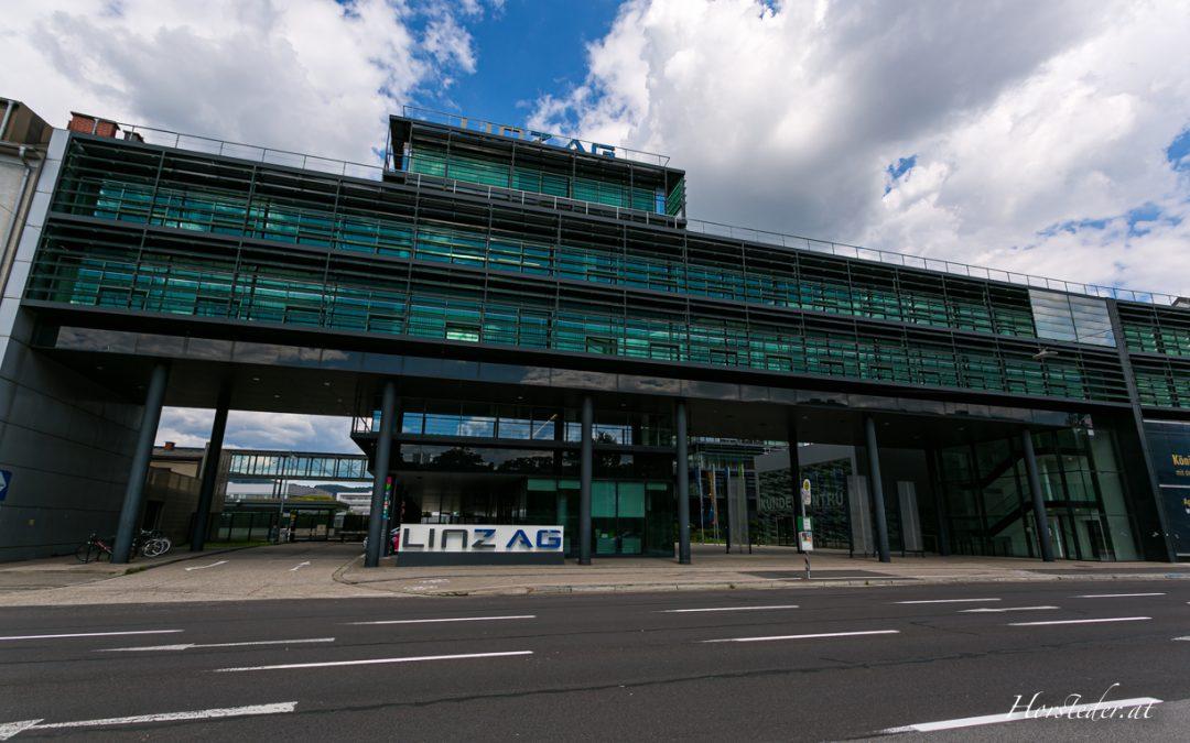 Linz AG……Ein Glaspalast in der Wienerstrasse…