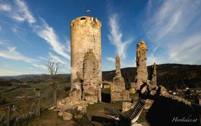 Burg Waxenberg….im Mühlviertel..