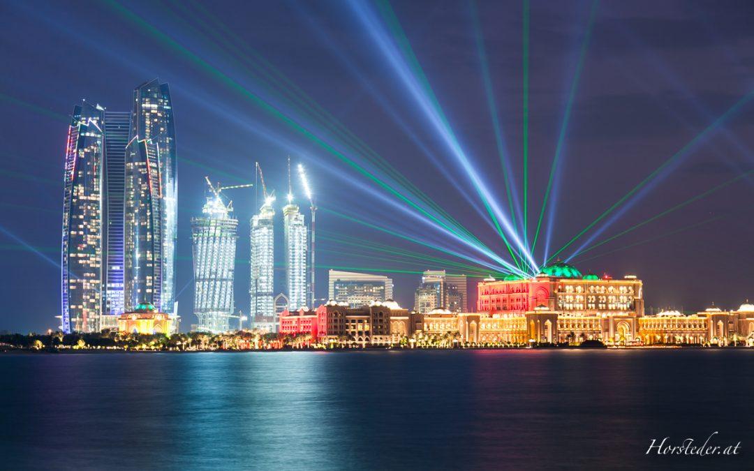 Abu Dhabi…..hoch – höher….