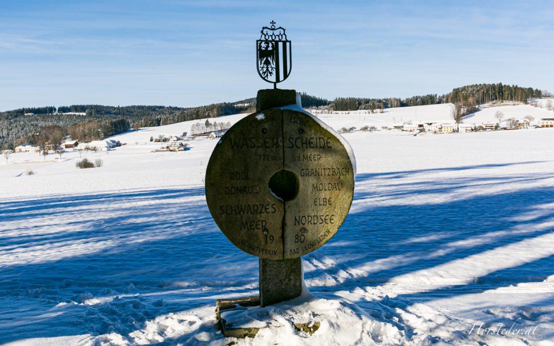Gemütliche Winterwanderung zur Schwedenschanze…