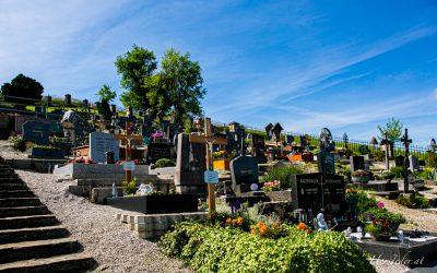 Friedhof in Steinbach an der Steyer..
