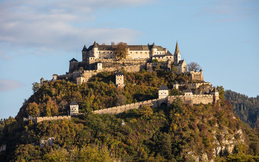 Burg –  Hochosterwitz in Kärnten…