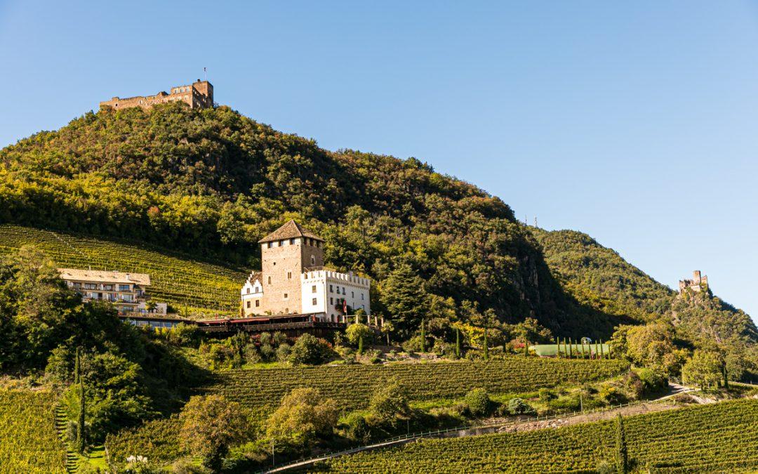 Drei Burgen Wanderung in Eppan …..Süd Tirol..