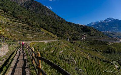 Algunder Waalweg……in Süd Tirol…