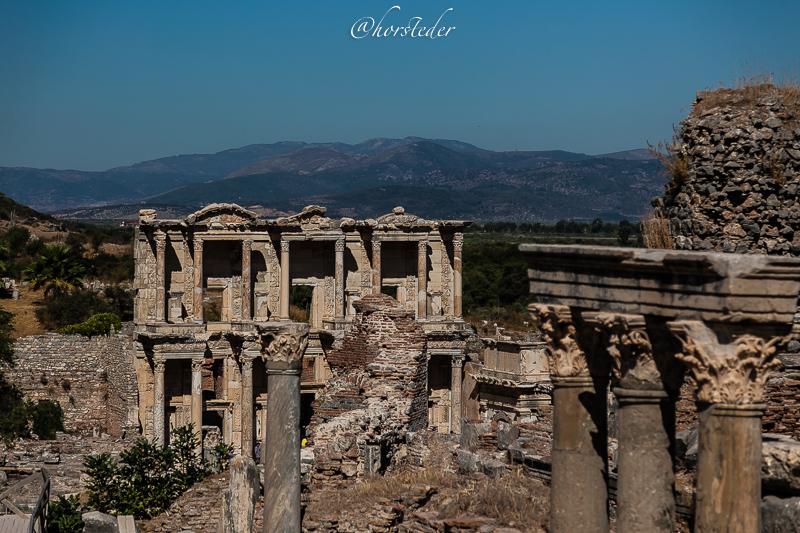 Ephesos……..Antike Stadt in der Türkei..