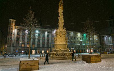 Spaziergang durch das Winterliche – Linz…..