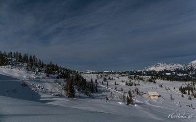 Skitour auf die Fageralm….