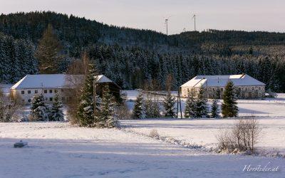 Bauernhof im winterlichen Mühlviertel….