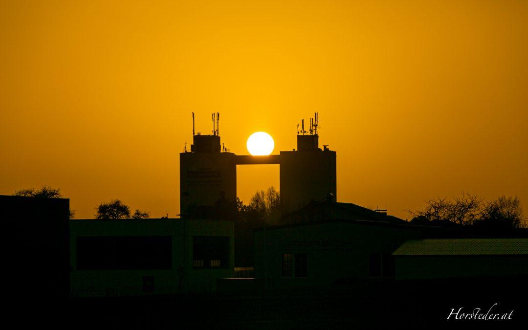 Saharastaub machts möglich…. Lagerhaus Alkoven