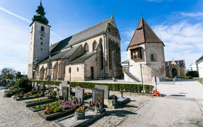Pfarre Enns – St. Laurenz……Eine Schöne und interessante Kirche..